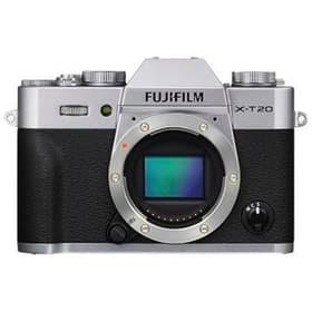 X-T20 argent Boîtier de l'appareil photo hybride FUJIFILM 78530012582817 Photo n°. 1