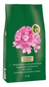 Concime per rododendri e conifere, 2.5 kg Fertilizzante solido Migros-Bio Garden 658307800000 N. figura 1