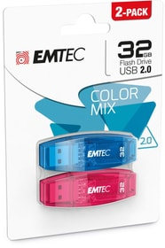 Clé USB 32Go C-410 Duo USB 2.0 Emtec 798250900000 Photo no. 1