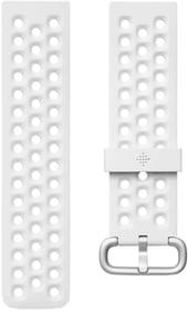 Versa 2 Bracelet sport, White Large Fitbit 798715600000 Photo no. 1