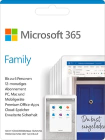 365 Famille ESD Digital (ESD) Microsoft 785300133540 Photo no. 1