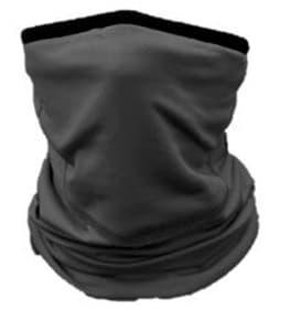SKIN sciarpa tubolare con mascherina integrata Maschera facciale 460545099920 Taglie one size Colore nero N. figura 1