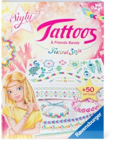 Tattoos & Friendsbands - Festival Style 746111400000 Photo no. 1