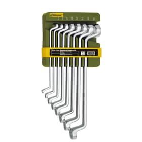Clés - Jeu complet doubles polyg. 8 pce. 6 à 22 mm