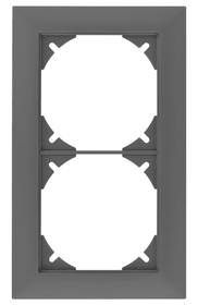 Edizio Due doppio Quadro Feller 612195100000 N. figura 1