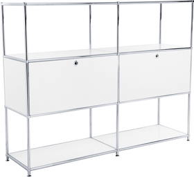FLEXCUBE Buffet haut 401894600000 Dimensions L: 152.0 cm x P: 40.0 cm x H: 118.0 cm Couleur Blanc Photo no. 1