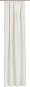 PIETRO Fertigvorhang blickdicht 430266821810 Farbe Weiss Grösse B: 145.0 cm x H: 270.0 cm Bild Nr. 1