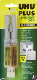 Colla di resina epossidica a 2 componenti Plus endfest 300 Uhu 663065300000 Taglio L: 2.6 cm x L: 11.0 cm N. figura 1