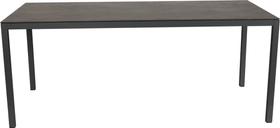 LOCARNO, 220 cm, struttura antracite, piano Ceramica Tavolo 753193022020 Taglio L: 220.0 cm x L: 90.0 cm x A: 74.0 cm Colore Dark Night N. figura 1