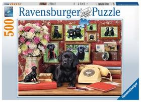 Mes fidèles amis 500 P. Puzzles Ravensburger 748675700000 Photo no. 1