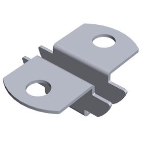 Staffa doppia a inserto, supporto a U per pavimenti in legno ELEMENTSYSTEM 603439500000 N. figura 1
