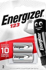 123 Lithium 3.0V 2 pièeces pile photo Fotobatterie Energizer 785300126125 Photo no. 1
