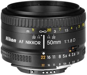 AF 50mm F1.8 D Objektiv Nikon 785300125521 Bild Nr. 1