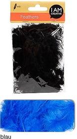 Dekofedern I AM CREATIVE 665525400030 Farbe Blau Bild Nr. 1
