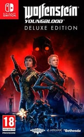 NSW - Wolfenstein: Youngblood Deluxe Edition F Code in a Box 785300145206 N. figura 1