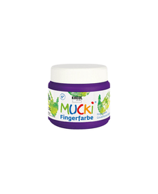 MUCKI peint.a doigts, violet, 150ml 666886800000 Photo no. 1