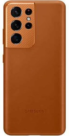 Leather Cover Brown Hülle Samsung 785300157304 Bild Nr. 1