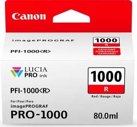 PFI-1000 rosso Cartuccia d'inchiostro Canon 785300126461 N. figura 1