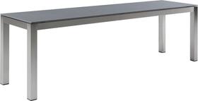 LOCARNO, 160 cm, struttura acciaio inox, piano Ceramica Panca 753193316073 Taglio L: 160.0 cm x L: 35.0 cm x A: 45.0 cm Colore Cemento scuro N. figura 1