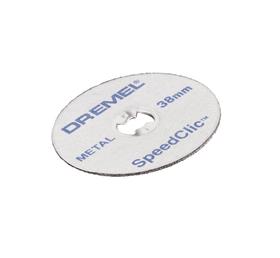 SC Disques à tronçonner pour la découpe des métaux 38 mm pack de 12 pcs. (SC456B) Accessoires couper Dremel 616049500000 Photo no. 1