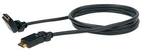 Kabel HDMI schwenkbar 1.5m schwarz Schwaiger 613181200000 Bild Nr. 1