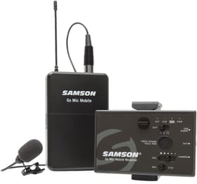 Go Mic Mobile Lavalier Professional wireless system Microphone Samson 785300152982 Photo no. 1