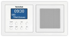 DigitRadio UP 1 - Weiss DAB+ Radio Technisat 785300139549 Bild Nr. 1