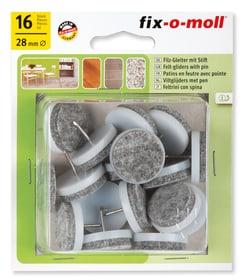 Filzgleiter mit Stift 4 mm / Ø 28 mm 16 x Fix-O-Moll 607070200000 Bild Nr. 1