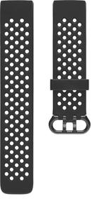 Charge 3 Bracelet Sport Noir Large Bracelet sport Fitbit 785300138595 Photo no. 1