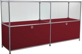 FLEXCUBE Buffet 401814120230 Dimensions L: 152.0 cm x P: 40.0 cm x H: 80.5 cm Couleur Rouge Photo no. 1