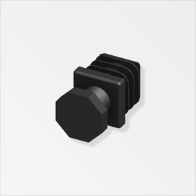 Connecteur-jonction 23.5 mm 90° PA noir alfer 605139200000 Photo no. 1