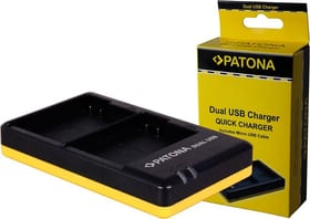 Dual USB EN-EL15 Ladegerät Patona 785300144501 Bild Nr. 1