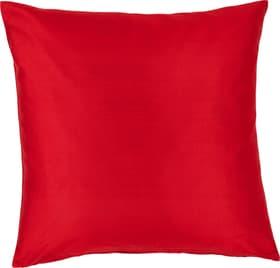 DELIA Housse de coussin décoratif 450725740030 Couleur Rouge Dimensions L: 40.0 cm x H: 40.0 cm Photo no. 1