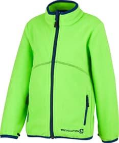 Veste en polaire pour garçon Trevolution 472361611661 Taille 116 Couleur vert clair Photo no. 1