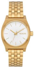 Medium Time Teller All Gold White 31 mm Montre bracelet Nixon 785300136985 Photo no. 1