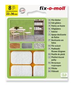 Filzgleiter 3 mm / 36 x 22 mm 8 x Fix-O-Moll 607068800000 Bild Nr. 1