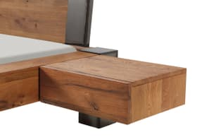 CAJA Table de chevet HASENA 403520385019 Dimensions L: 48.0 cm x P: 41.0 cm x H: 16.0 cm Couleur Chêne brut Photo no. 1