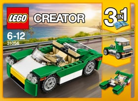 LEGO Creator La décapotable verte 31056