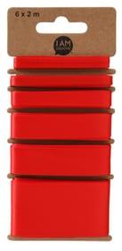 Satinband, Rot, 6 x 2 m 666535500000 Bild Nr. 1
