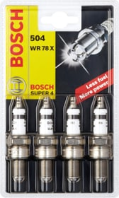 504 WR 78 X Super 4 Bougie