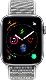 Watch Serie 4 44mm GPS silver Aluminum Seashell Sport Loop Smartwatch Apple 798455900000 Bild Nr. 1