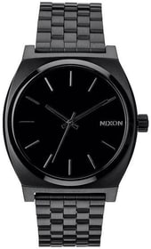 Time Teller All Black 37 mm Montre bracelet Nixon 785300136944 Photo no. 1