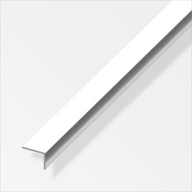 Winkel-Profil ungleichschenklig 1 x 20 x 10 mm chrom-optik 1 m alfer 605141800000 Bild Nr. 1