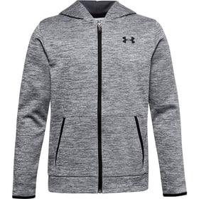 Fleece® Full Zip Veste à capuche pour enfants Under Armour 466832312880 Taille 128 Couleur gris Photo no. 1