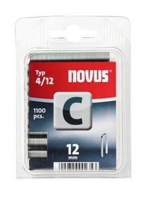 Schmalrückenklammer C Typ 4/12 NOVUS 601256600000 Grösse 12 mm / 1'100x Bild Nr. 1