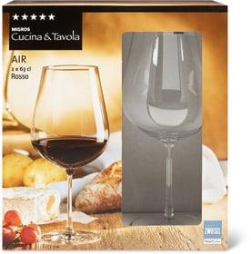 AIR Rosso Cucina & Tavola 701132500003 Dimensions H: 21.9 cm Couleur Transparent Photo no. 1
