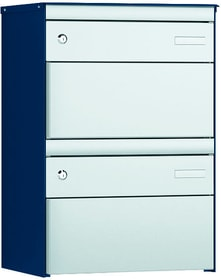 2x s:box 13 saphir/alu Boîtes aux lettre Stebler 604031600000 Couleur Bleu saphir Photo no. 1