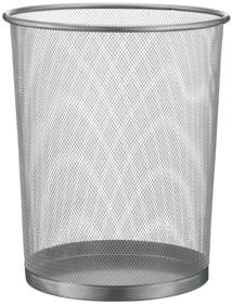 MESH Corbeille à papier 440632103501 Couleur Argent Dimensions H: 35.0 cm Photo no. 1