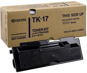 TK-17 Noire Cartouche de toner Kyocera 796053500000 Photo no. 1