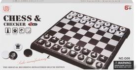 Chess et Checker magnetique Jeux de société 748668200000 Photo no. 1